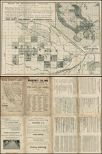California Map By Britton & Rey / Kern County Land Company