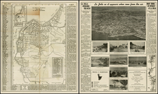 California Map By La Jolla Printing Company