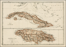 Caribbean Map By J. David Williams
