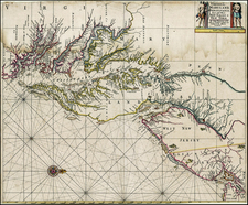 Mid-Atlantic Map By John Thornton