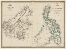 Southeast Asia and Philippines Map By Edward Weller