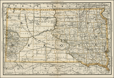 Plains Map By William Rand  &  Andrew McNally