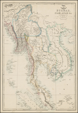 Southeast Asia Map By Edward Weller