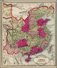 China Map By H.C. Tunison