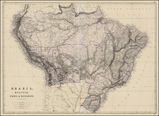 South America Map By Weekly Dispatch