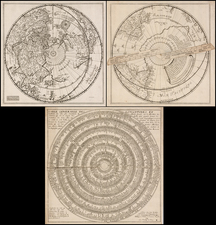 World, World, Eastern Hemisphere, Western Hemisphere, Northern Hemisphere, Southern Hemisphere and Polar Maps Map By Jean Boisseau