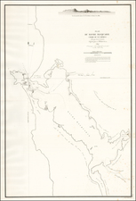 Australia Map By L.I. Duperrey