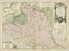 Poland and Baltic Countries Map By Jean Janvier