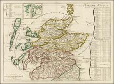 Scotland Map By Nicolas de Fer