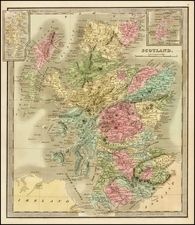 Scotland Map By Jeremiah Greenleaf
