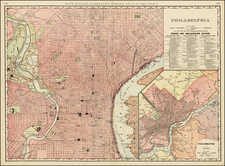 Mid-Atlantic Map By William Rand  &  Andrew McNally