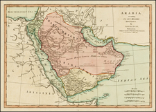 Middle East Map By Samuel Dunn