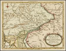 Mid-Atlantic Map By Thomas Kitchin