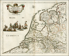 Netherlands Map By Giacomo Giovanni Rossi