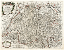 Switzerland Map By Giacomo Giovanni Rossi