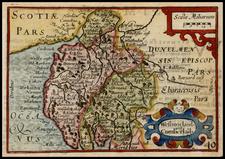 Scotland Map By John Speed