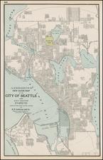 Map By George F. Cram