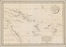 Southeast Asia, Other Islands, Australia and Other Pacific Islands Map By Jean Francois Galaup de La Perouse