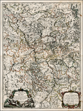 Germany Map By Giacomo Giovanni Rossi
