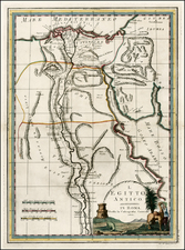 Egypt Map By Giovanni Maria Cassini