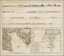 South America Map By James Cook