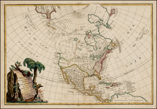 North America Map By Jean Janvier