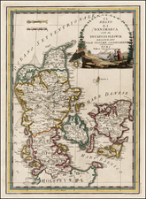 Scandinavia Map By Giovanni Maria Cassini