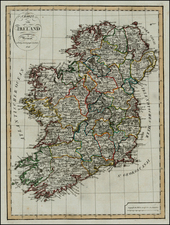 Ireland Map By Weimar Geographische Institut