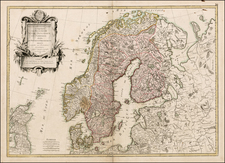 Scandinavia Map By Jean Janvier