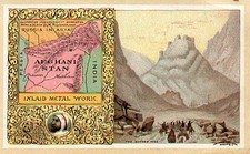 Central Asia & Caucasus Map By Arbuckle Brothers Coffee Co.