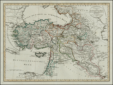Central Asia & Caucasus, Middle East, Turkey & Asia Minor and Balearic Islands Map By Weimar Geographische Institut