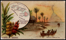 Hawaii and Hawaii Map By Arbuckle Brothers Coffee Co.