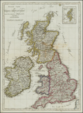 British Isles Map By Tranquillo Mollo