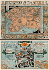 California Map By Mary Hall Atwood