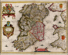 Ireland Map By Jan Jansson