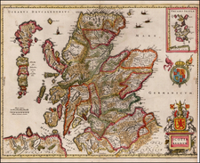 Scotland Map By Jan Jansson