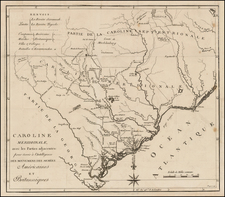 Southeast Map By Charles Picquet