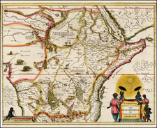 Africa, Africa, East Africa and West Africa Map By Jan Jansson