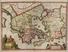 Greece Map By Jan Jansson