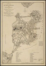 New England Map By William Faden