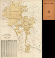 California Map By Los Angeles Board of Public Works