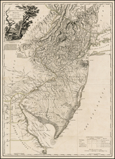 Mid-Atlantic Map By William Faden