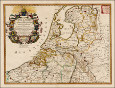 Netherlands Map By Guillaume Danet