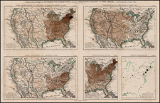 United States Map By Augustus Herman Petermann