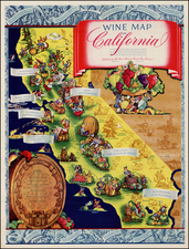 California Map By Ruth Taylor White / Schwabacher-Frey Co.