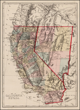 California Map By C.H. Jones
