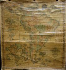 South America Map By Joseph Hutchins Colton
