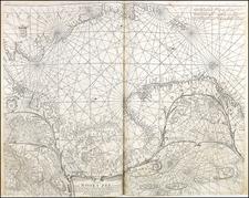 Scandinavia Map By Caspar  Lootsman