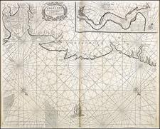 England Map By Jacob and Caspar Lootsman (Jacobsz)