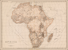 Africa and Africa Map By Edward Weller